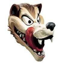 Hungry Máscara Del Lobo Adulto Látex Traje Disfraz De Hombre