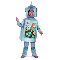 Disfraz Artsy Heartsy Retro Traje De Robot
