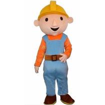 Botarga Bob El Constructor Disfraz Adulto Fiesta