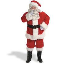 Disfraz De Santa Claus Para Adultos, Navidad Envio Gratis