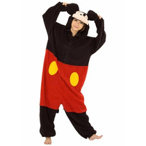 Disfraz / Pijama / Mameluco De Mickey Mouse Para Adultos