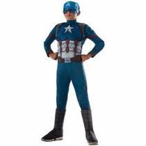 Disfraz De Capitan America Civil War Para Niños Envio Gratis
