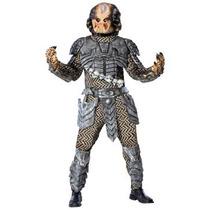 Disfraz Depredador Hombre Halloween Predator De Lujo