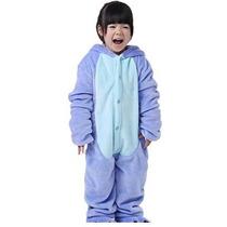 Meilaier Unisex-bebé Otoño Invierno Franela Mameluco Stitch