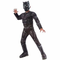 Disfraz De Pantera Negra Black Panter Civil War Para Niños