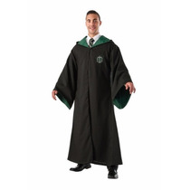 Disfraz Capa De Lujo De Harry Potter Slytherin Para Adultos