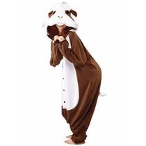 Disfraz / Pijama / Mameluco De Conejillo De Indias Adultos