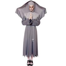 Oferta Unica! Disfraz De Monja Fantasma Para Damas Mediano