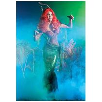 Disfraz De Sirenita, Sirena Zombie Para Damas, Envio Gratis