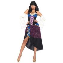 Disfraz De Gitana Para Damas, Envio Gratis