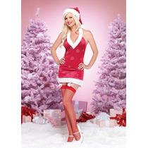 Leg Avenue Disfraz Sexy Chica Santaterciopelo 83591 Hwo