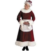 Disfraz / Disfraces De Sra. Claus, Navidad Para Dama