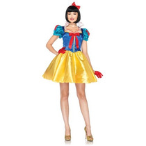 Disfraz De Lujo Mujer Princesa Blanca Nieves Disney Adulto