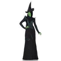 Disfraz De Bruja Wicked, Mago De Oz Para Damas, Envio Gratis