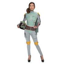 Disfraz Mujer Boba Fett Star Wars Halloween Adulto