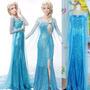 Oferta Disfraz Frozen Adulto Princesa Elsa Ana Vestido