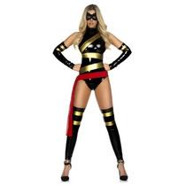 Disfraz De Suoer Heroe Para Damas, Envio Gratis
