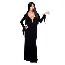 Disfraz De Morticia Locos Addams Para Damas, Envio Gratis