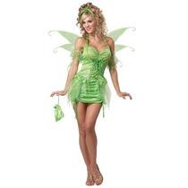Disfraz De Tinkerbell, Campanita Para Damas, Envio Gratis