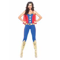 Disfraz Chica Heroe De Comic 85418