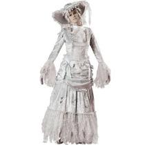 Disfraz De Fantasma Colonial P/ Damas, Envio Gratis
