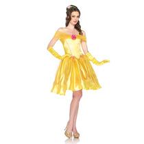 Disfraz De Bella Y La Bestia, Princesas De Disney Para Damas