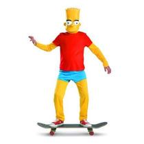 El Simpson Vestuario Deluxe Simpsons Bart