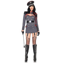 Disfraz General Adulto Mujer Militar Halloween Sexy