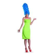 El Vestuario Deluxe Simpsons Marge De La Mujer Disfraz
