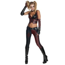 Disfraz Mujer Gotica Arlequin Halloween Adulto Harley Quinn