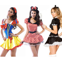 Disfraces Sexys Mujer Dama Gatubela Policia Sirvienta Disney