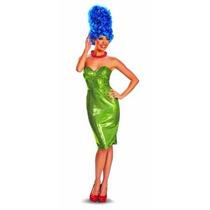 Disfrazar El Glam Deluxe Vestuario Para Mujer Marge Simpson