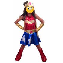 Disfraz Mujer Maravilla O Wonder Woman
