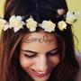 10 Coronas Diademas Flores Fiesta Disfraz Princesa Tiara