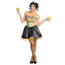 Disfraz Monopoly Monopolio Mujer Talla Mediana (8/10)