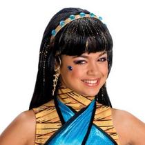 Peluca De Monster High Cleo De Nile Para Niñas