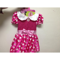 Disfraz Mimi Minnie Mouse Incluye Orejitas Licencia Disney