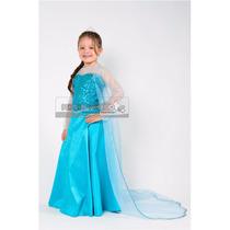 Disfraz Estilo Elsa Frozen