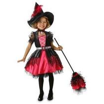 Disfraz De Lujo De Barbie Bruja Para Niñas, Envio Gratis