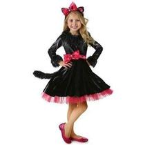 Disfraz De Lujo De Barbie Gatita Para Niñas, Envio Gratis