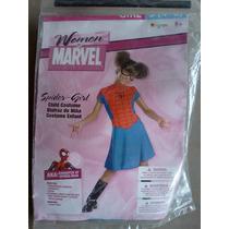 Disfraz Mujer Araña Para Niña Halloween Envio 70 Pesos