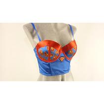 Disfraz Corsette Superman Supergirl Dc Comics 100% Original