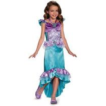 Disfraz Niña Disney Ariel Sirenita Talla 3 A 4 Años + Regalo