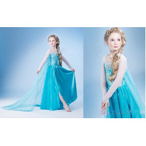 Vestido Frozen Elsa Hermoso