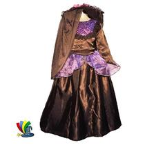 Disfraz Catrina Niña Halloween Con Sombrero Talla 10