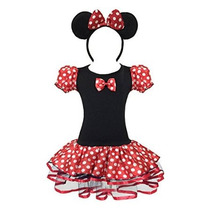 Wonderfuldress Disney Minnie Vestido De Traje De Ratón Chica