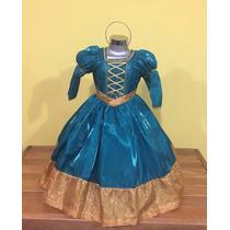 Vestido Disfraz Valiente (mérida).