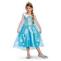 Disfraz Disney Congelado Elsa Deluxe Costume 10-12