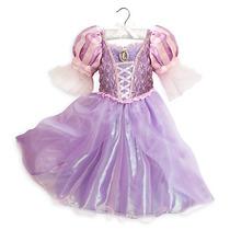 Vestido Disfraz Rapunzel Modelo 2016 100% Disney Store!