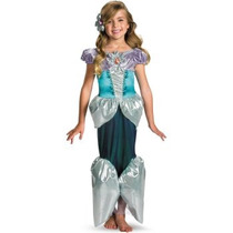 Disfraz De Princesa Ariel, Sirenita Para Niñas, Envio Gratis